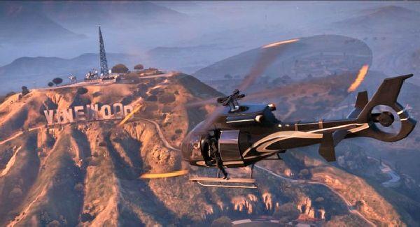 Mission en hélicoptère