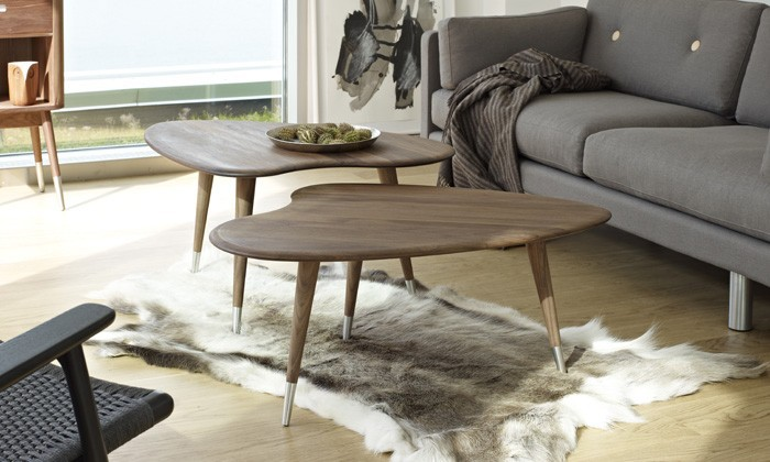 La table basse scandinave une id e d co de salon design for Petit mobilier de salon