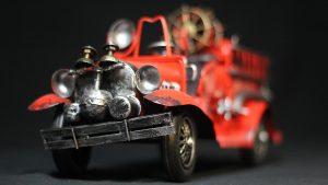 Camion de pompier miniature